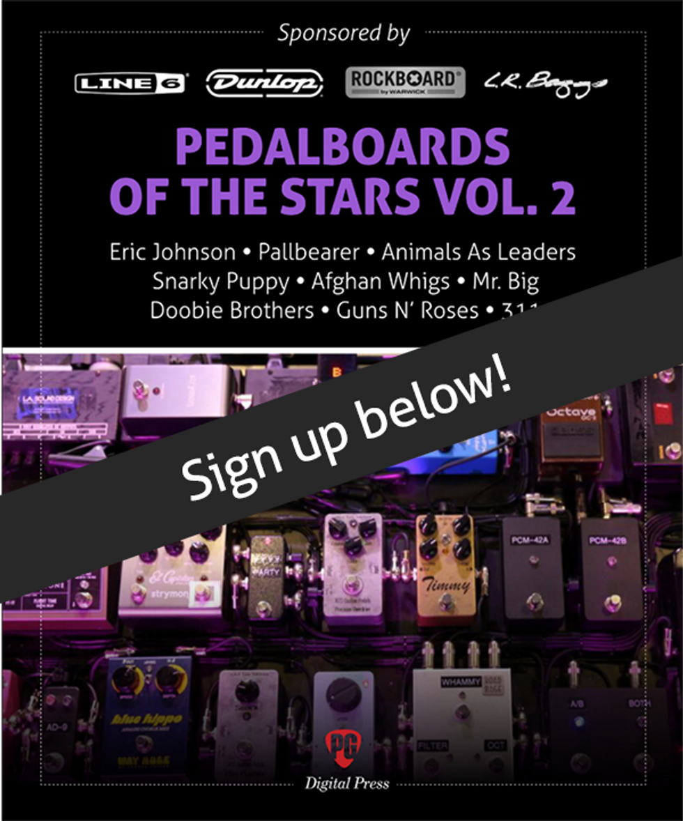 Pedalboards of the Stars vol. 2