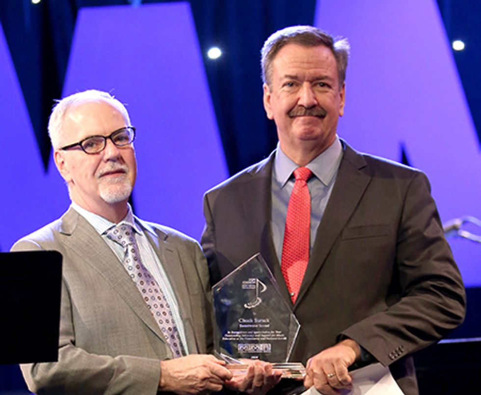 Chuck Surack has received the Don Johnson Industry Service Award
