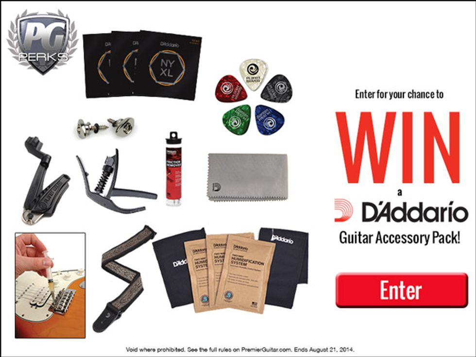 D'Addario Prize Pack