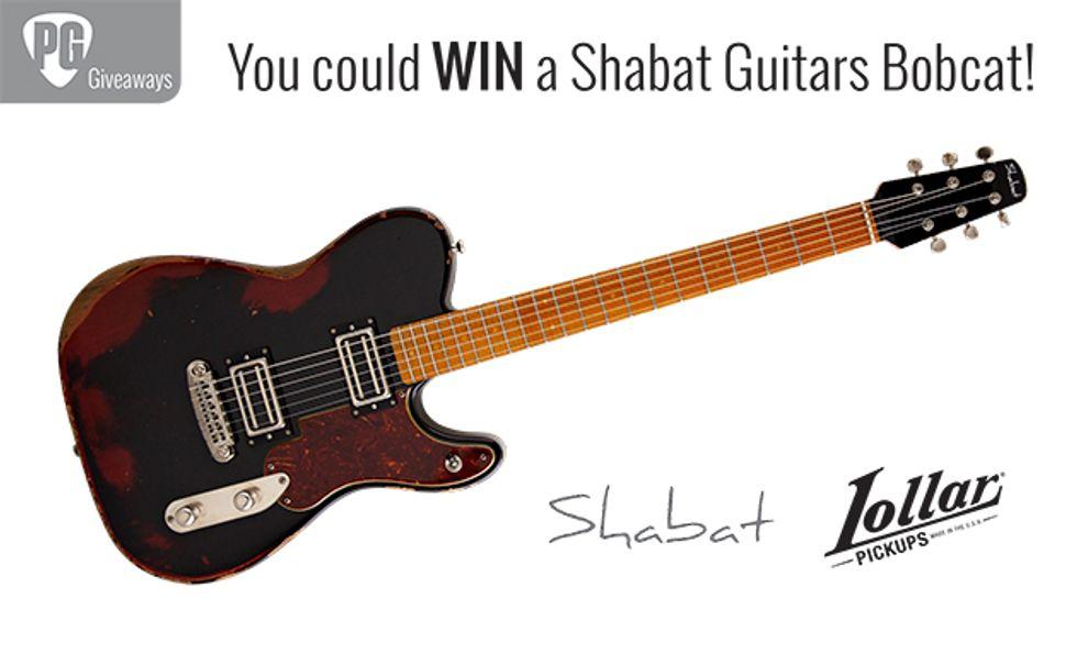 PG Giveaways: Shabat Guitars Bobcat