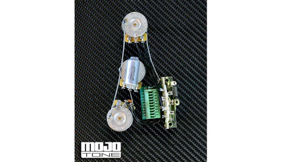 mojotone announces solderless 5 way blender wiring harness premier guitar. Black Bedroom Furniture Sets. Home Design Ideas