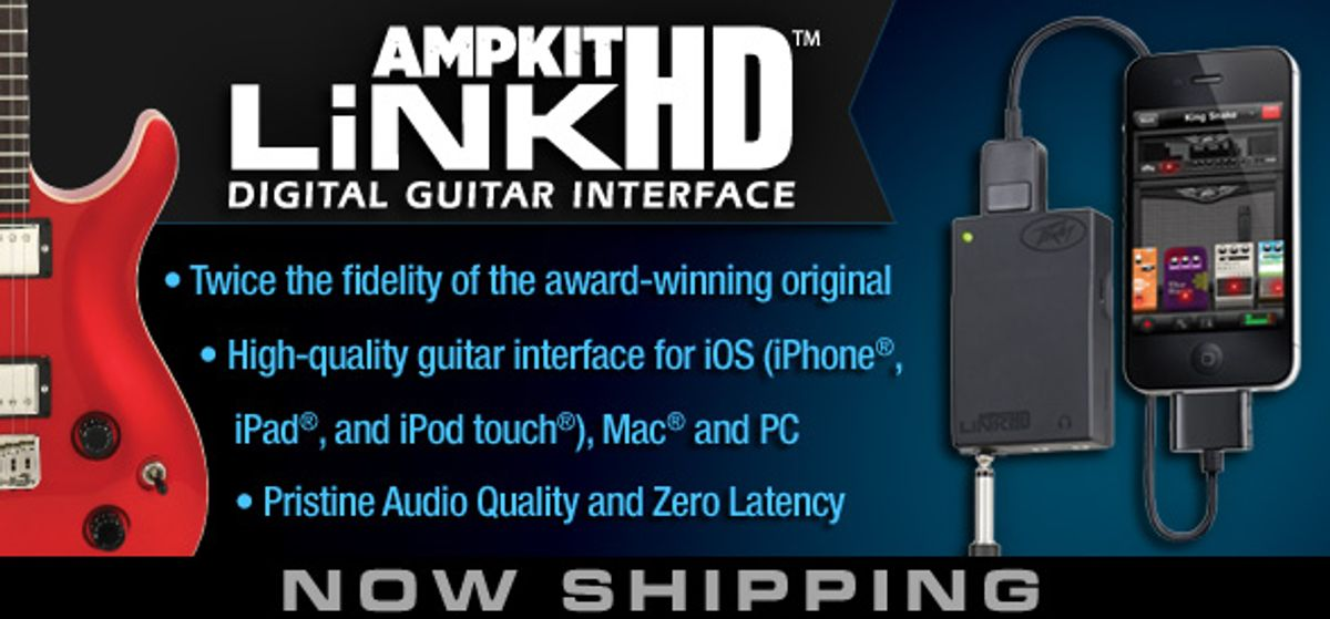 Peavey Now Shipping AmpKit LiNK HD