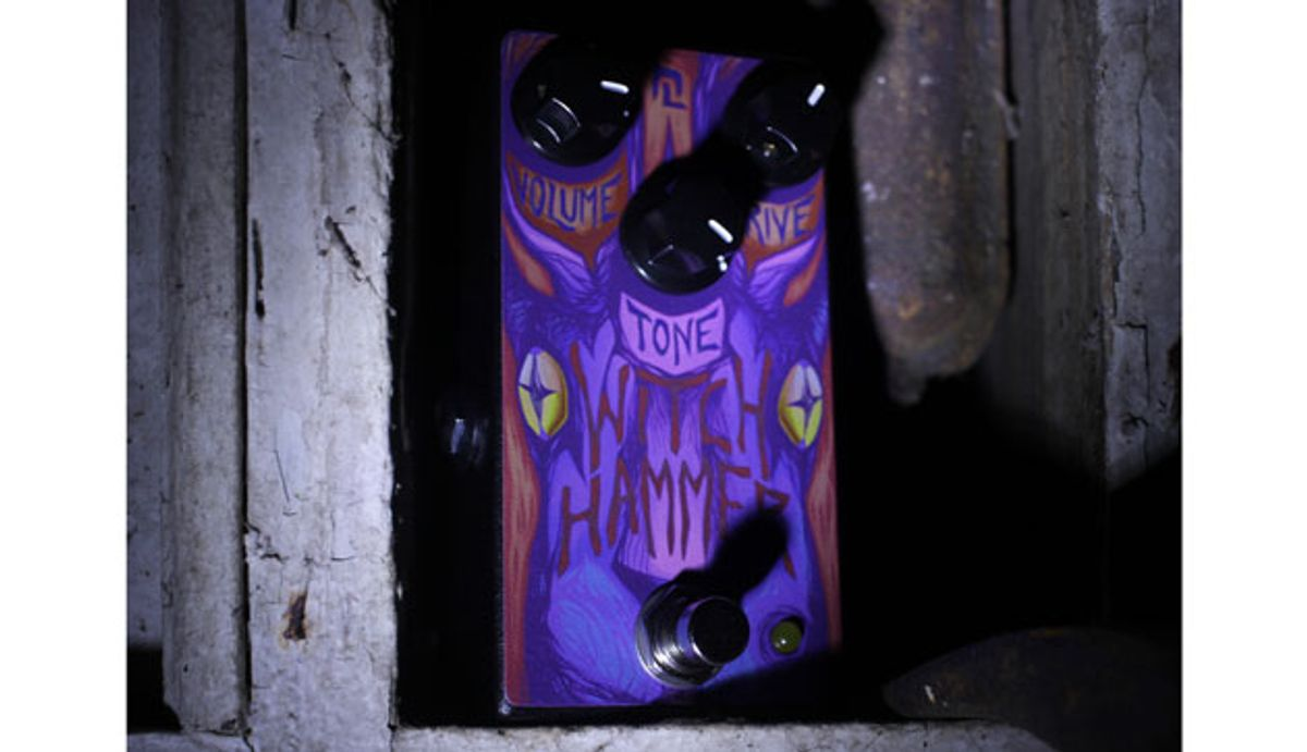 Haunted Labs Introduces the Witch Hammer Transparent Overdrive