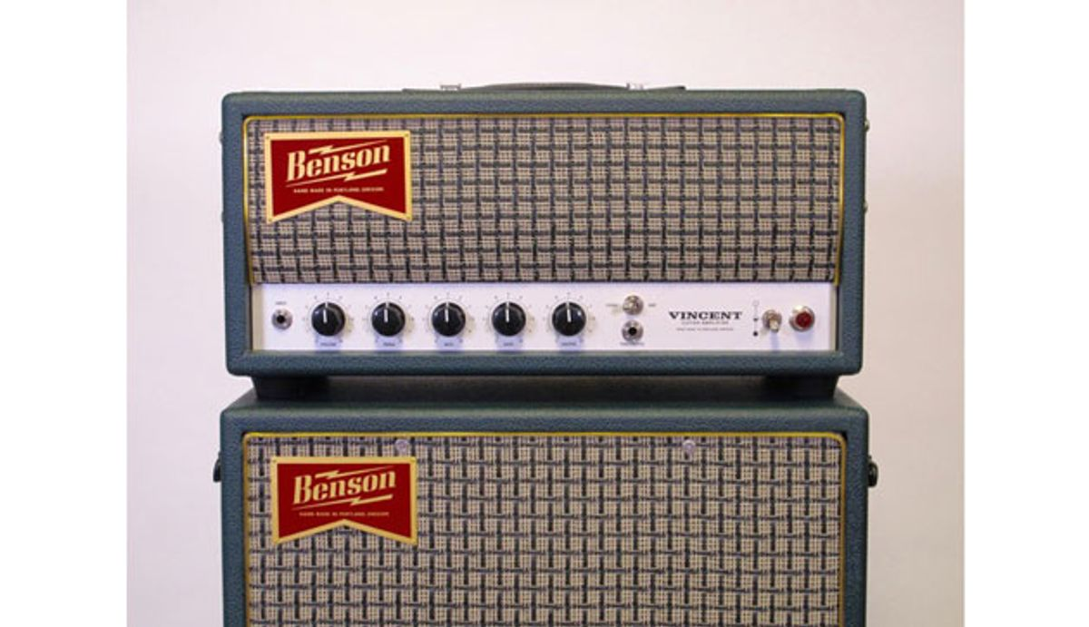 Benson Amps Releases the Vincent 30
