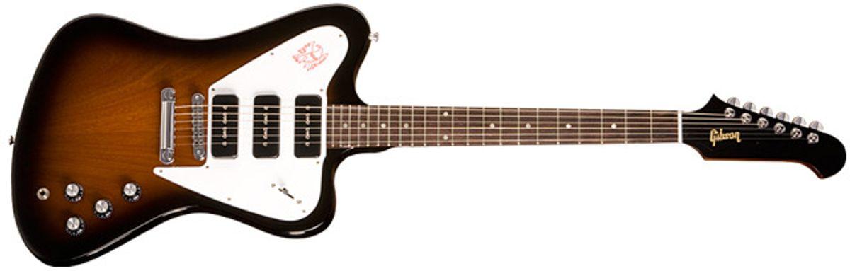 Gibson Unveils 2011 Firebird Studio Non-Reverse Guitar