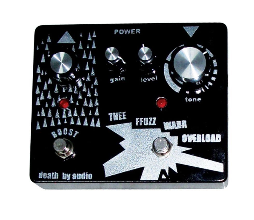 death by audio thee ffuzz warr overload review premier guitar. Black Bedroom Furniture Sets. Home Design Ideas