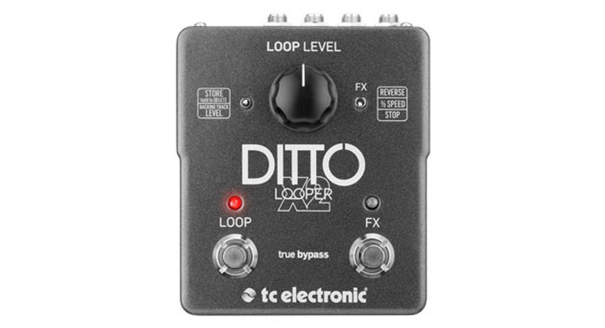 TC Electronic Unveils the Ditto X2 Looper