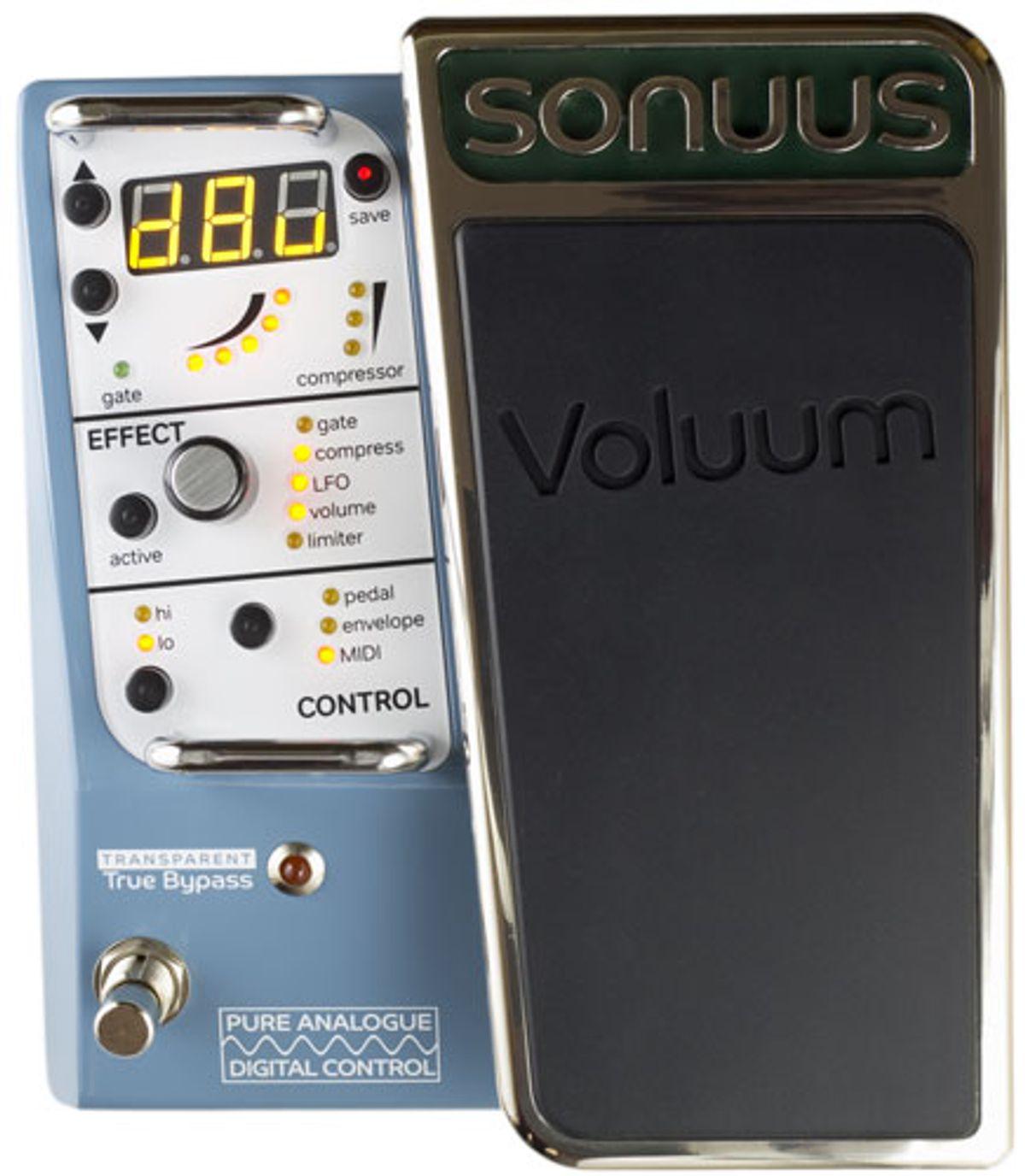 Sonuus Introduces the Voluum Volume Pedal