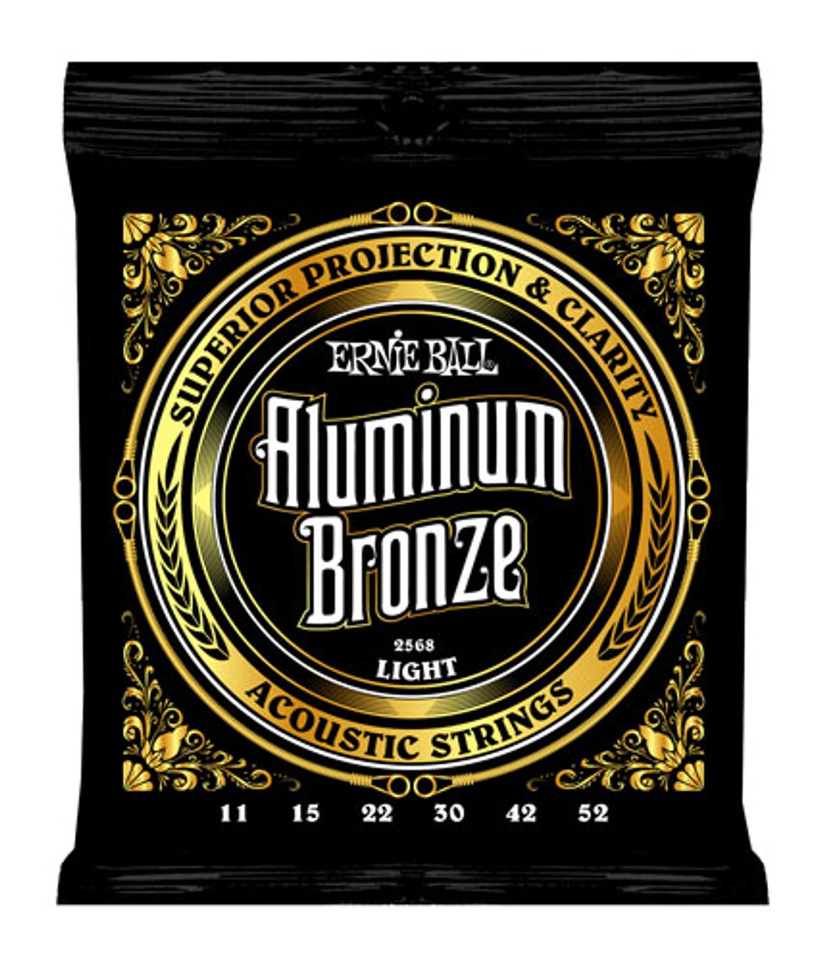Ernie Ball Introduces Aluminum Bronze and M-Steel Strings