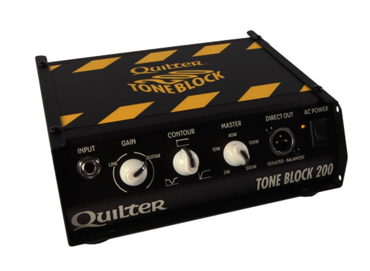 Quilter Releases the ToneBlock 200