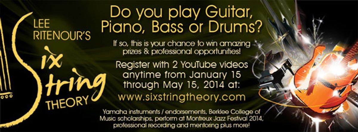 Lee Ritenour Launches the 2014 Six String Theory Competition