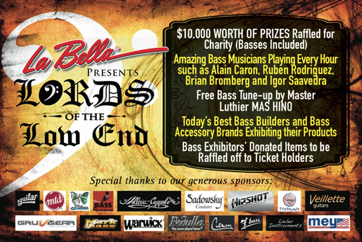 La Bella Strings Presents Lord of the Low End