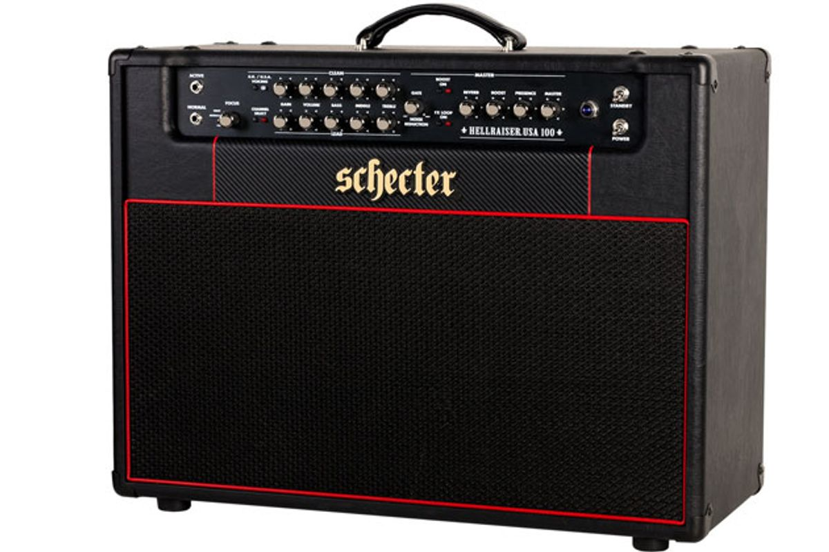 Schecter Amplification Unveils Hellraiser USA 2x12 Combo and Head