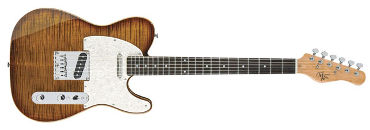 Michael Kelly Releases 1950s Line of Guitars
