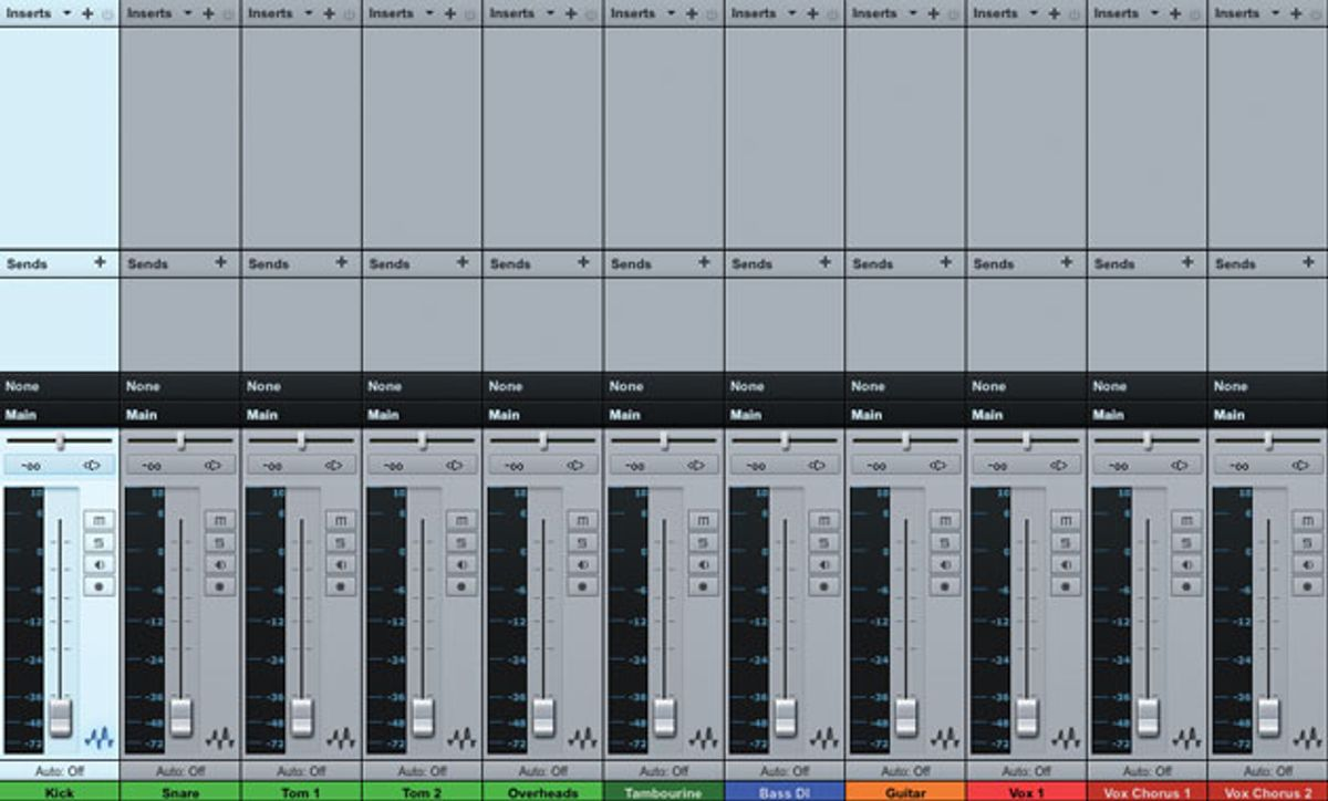 Guitar Tracks: Getting Down to Mixing
