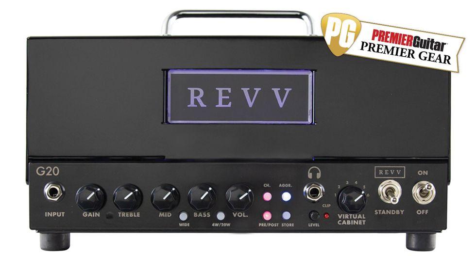 Revv G20 Review homepage
