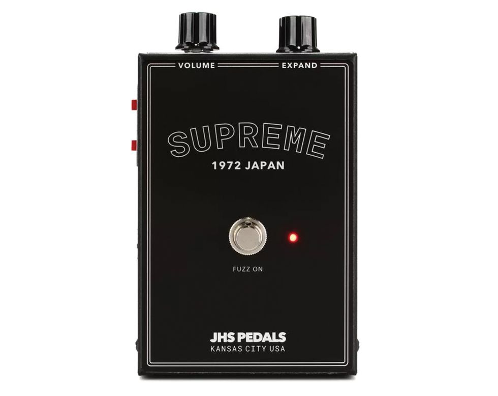 JHS Supreme fuzz review homepage