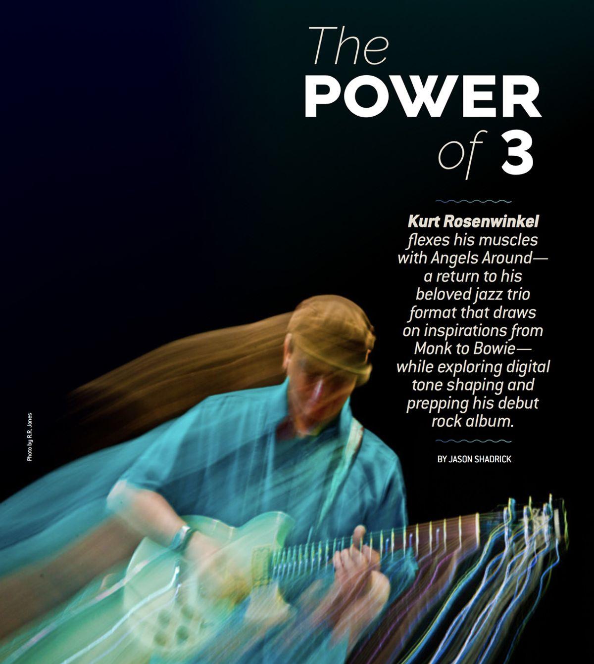 Kurt Rosenwinkel and the Power of 3