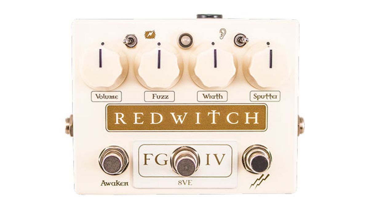 Red Witch Pedals Unveils the Fuzz God IV