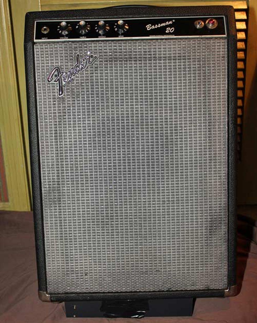 Trash Or Treasure Fender Bassman 20 Premier Guitar