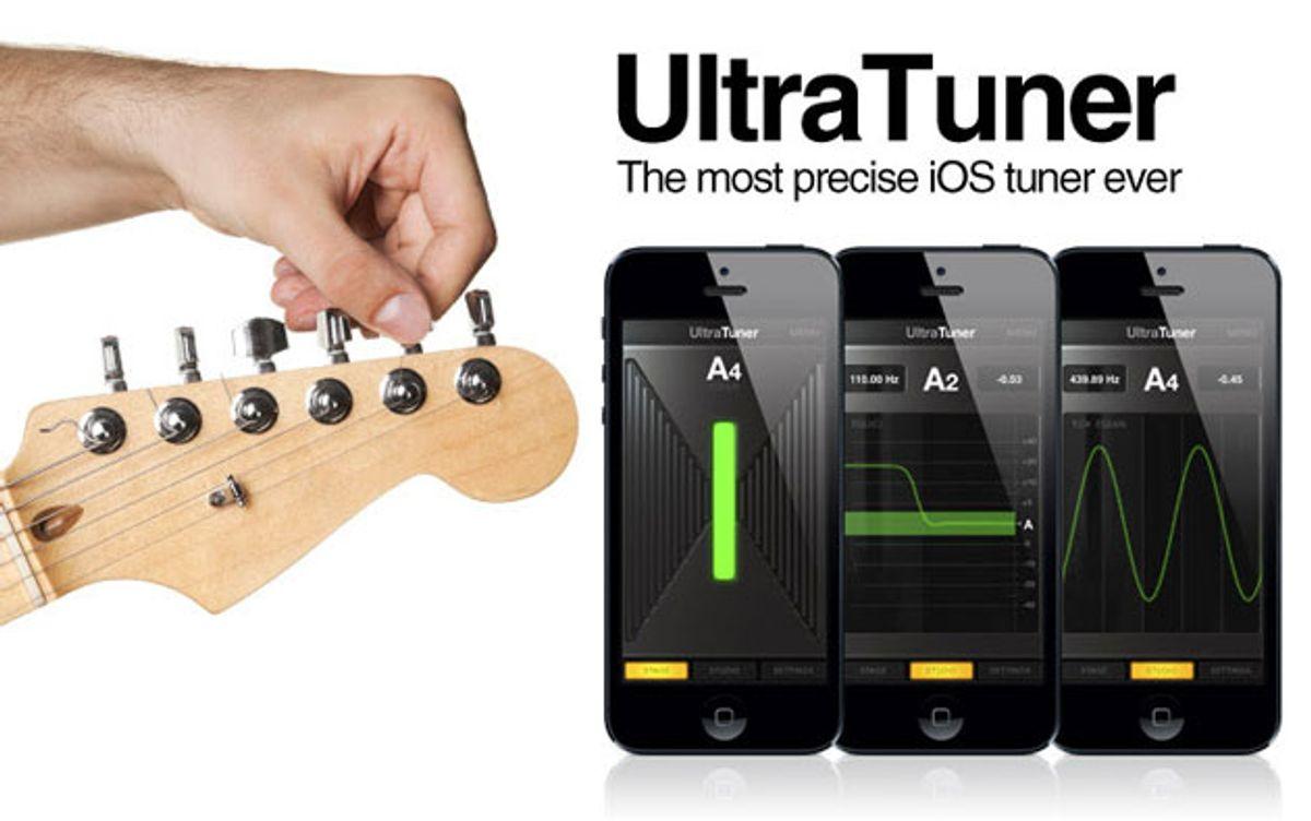 IK Multimedia Unveils UltraTuner for iOS
