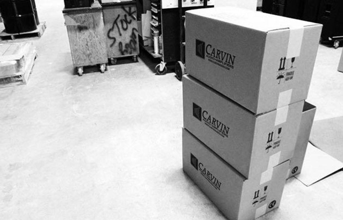 Carvin Audio Announces Closure of San Diego Factory