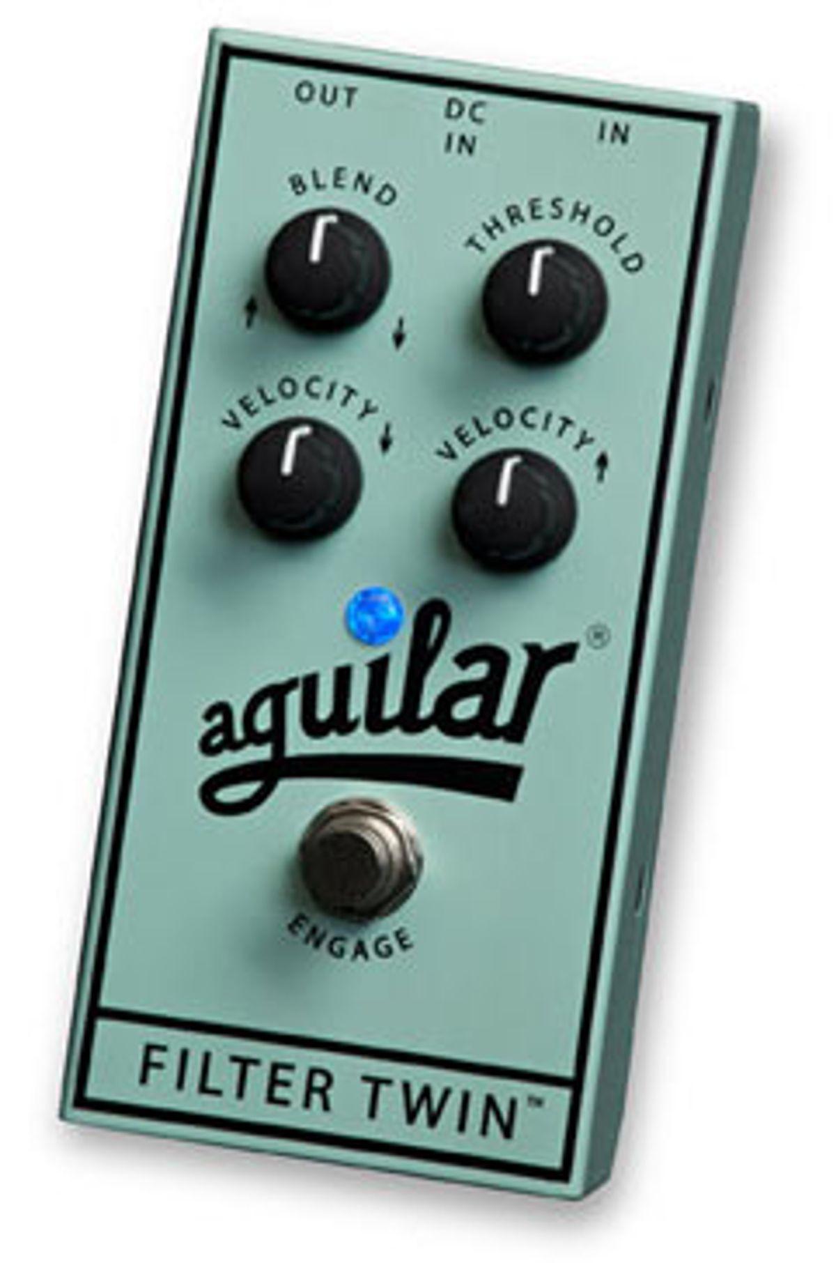 Aguilar Debuts Filter Twin Dual Bass Envelope Filter