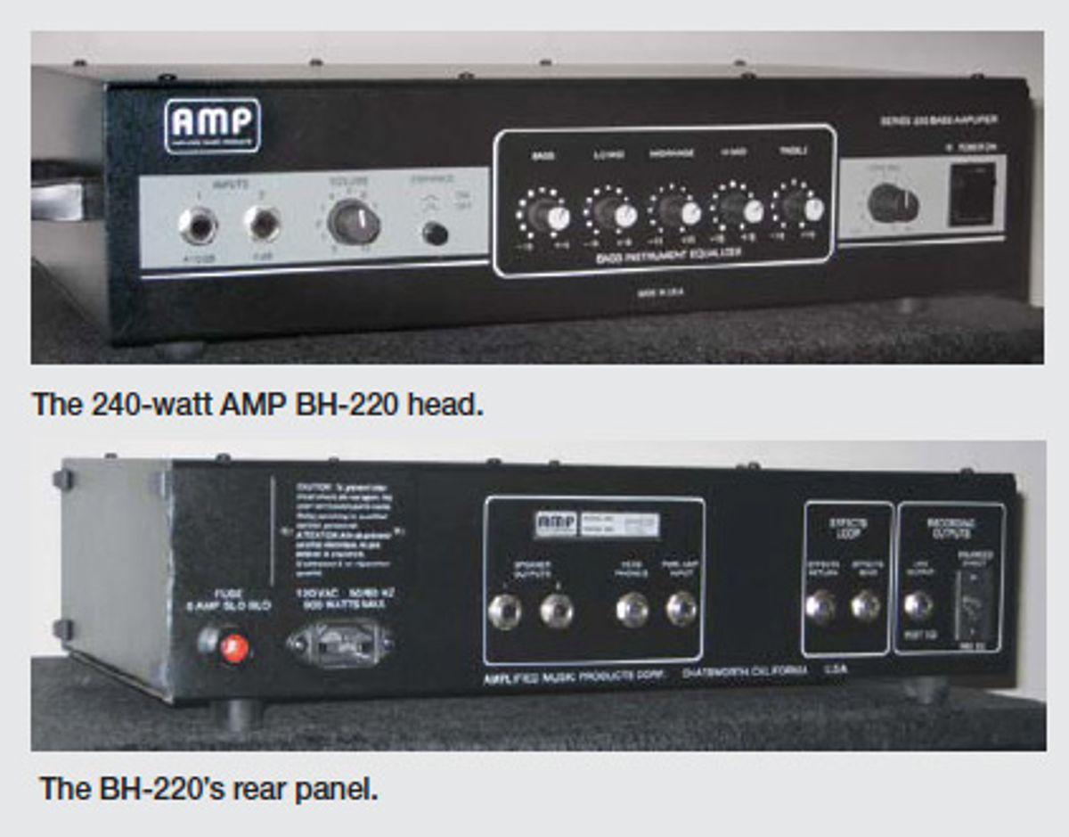 Amp Brand Bass Amplifier