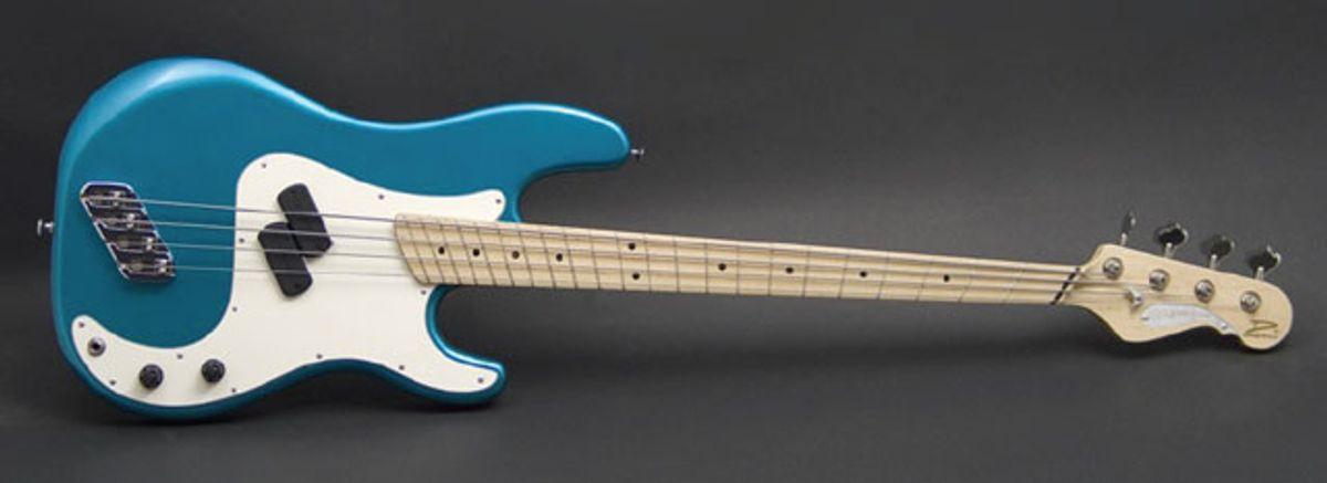 Dingwall Guitars Announces the Super P Standard 4 Bass