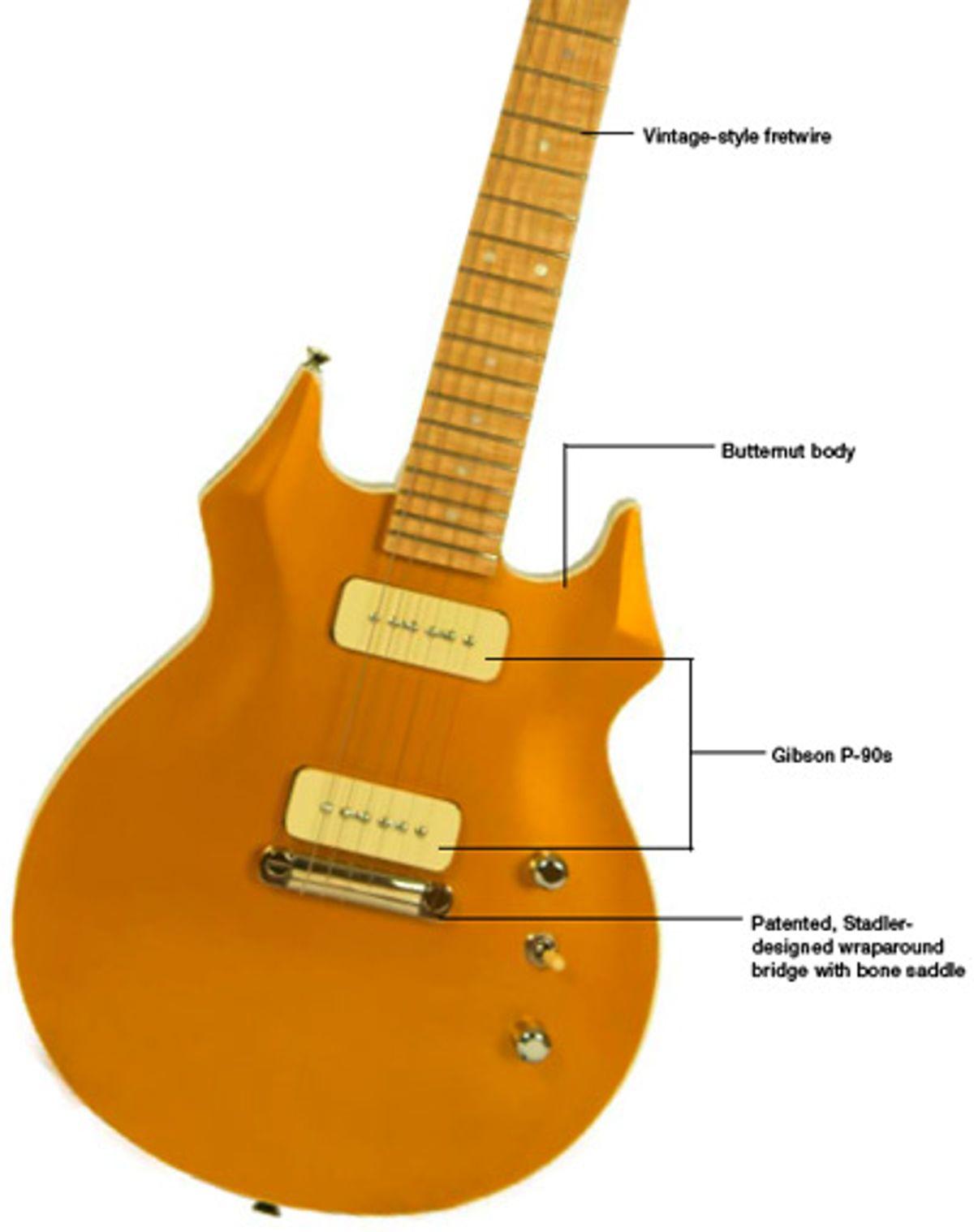 Stadler Guitars Goldtop Electric Guitar Review