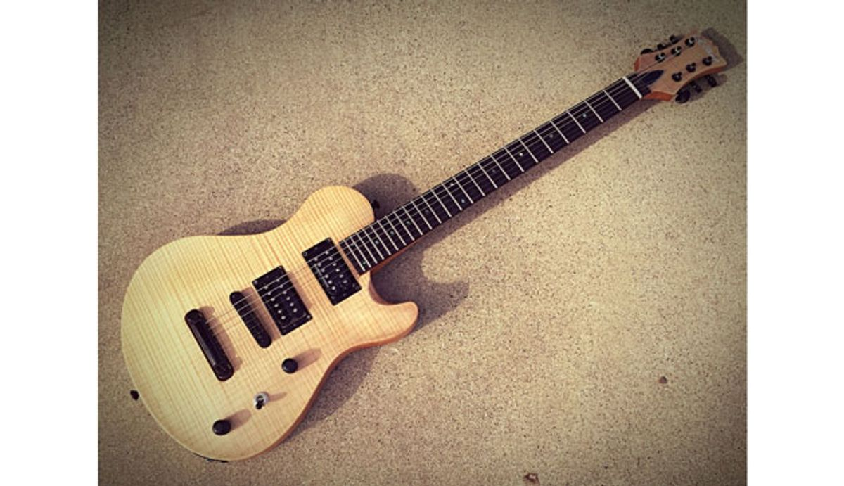 C.R. Alsip Guitars Unveils the SC Carved Top