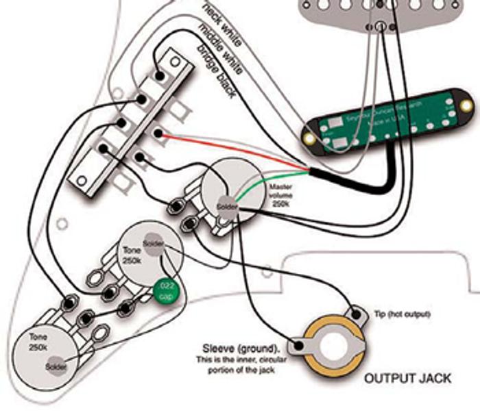 Stratocaster Auto Split Mod Premier, Stratocaster Wiring Diagram Seymour Duncan