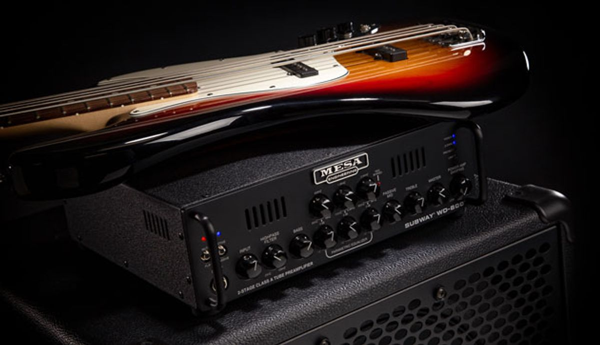 Mesa/Boogie Introduces the Subway WD-800, Subway Ultra-Lite Cabinets, and Subway Preamp