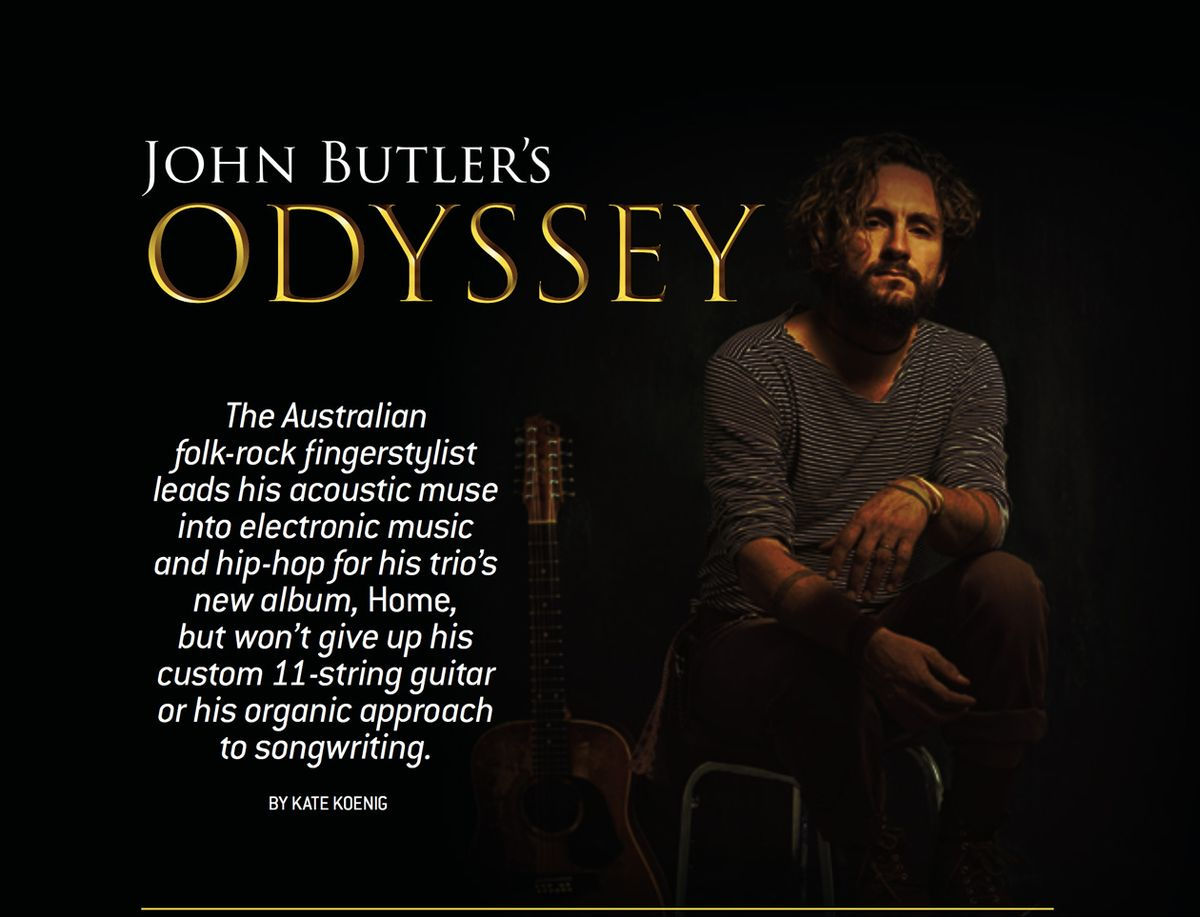 John Butler's Odyssey Leads to 'Home'