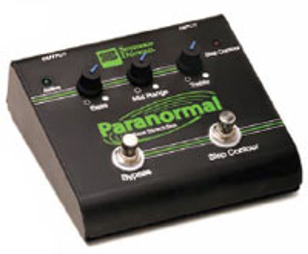 Seymour Duncan SFX-06 Paranormal Bass EQ Direct Box