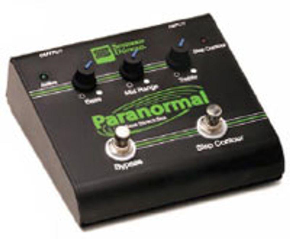 Seymour Duncan SFX-06 Paranormal Bass EQ Direct Box