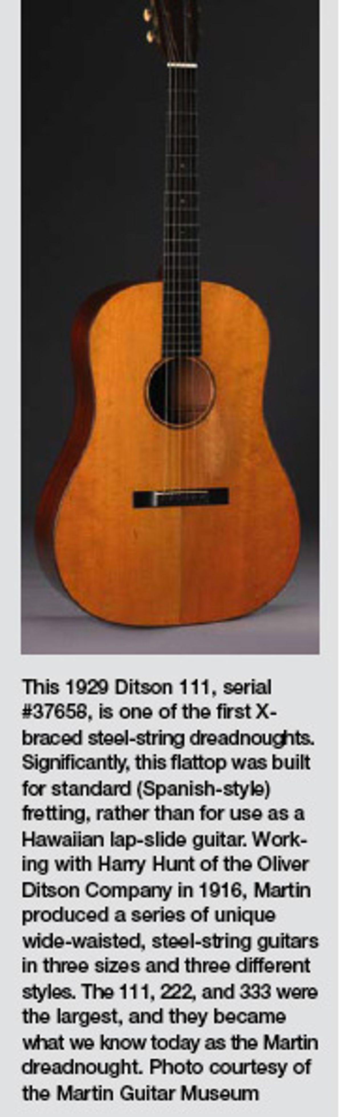 Tracking The Steel-String Guitar's Evolution, Pt. 1