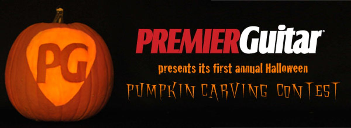 Premier Guitar's First Annual Pumpkin Carving Contest