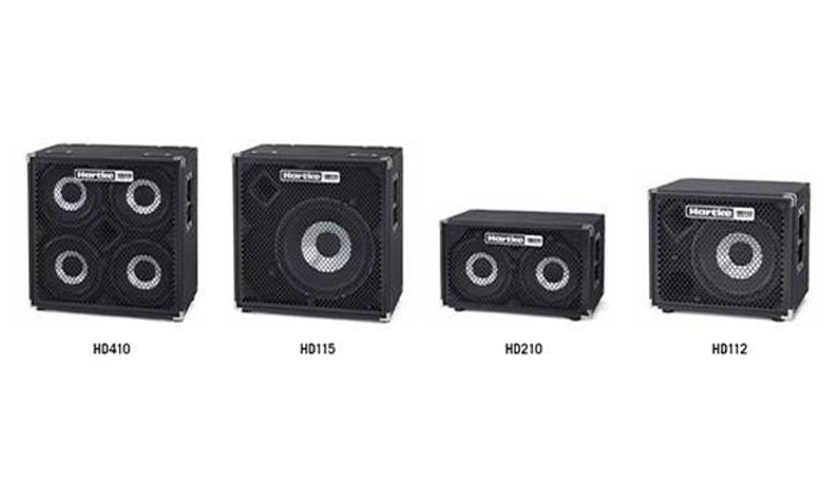 Hartke Introduces HyDrive HD Series Bass Cabinets