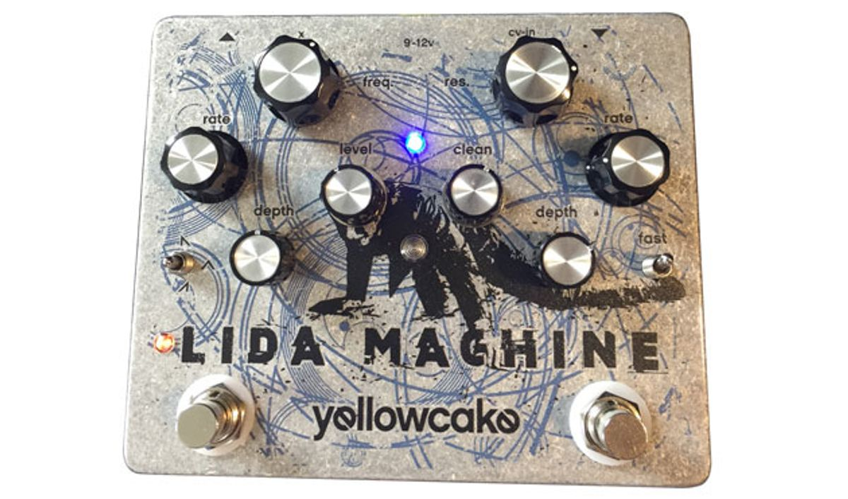 Yellowcake Pedals Announces the Lida Machine