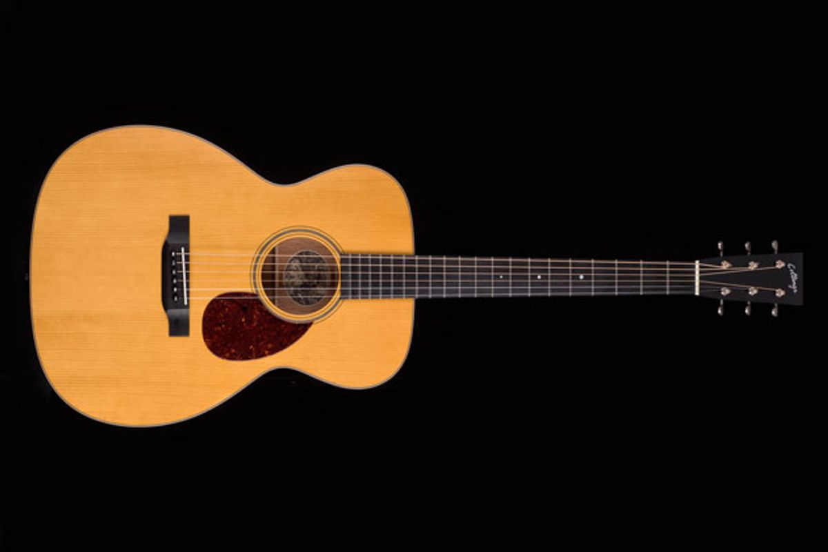Collings Guitars Announces the Julian Lage Signature OM1