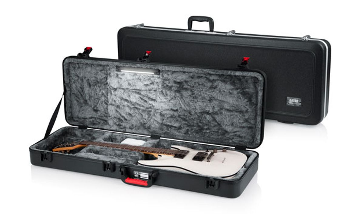 Gator Launches Line of LED Edition Guitar Cases