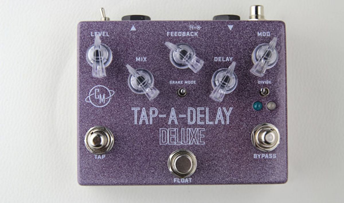 Cusack Music Introduces the Tap-A-Delay Deluxe