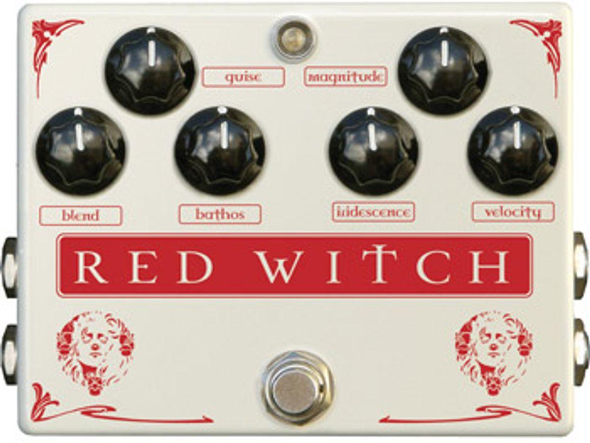Red Witch Analog Pedals Announces Medusa ChorusTrem Reissue