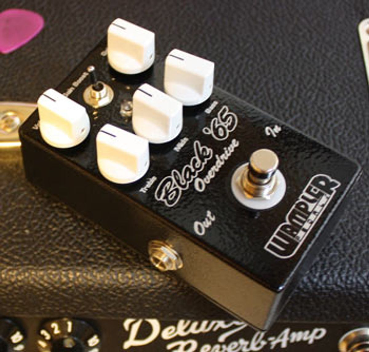 Wampler Pedals Releases Black '65 Overdrive Pedal