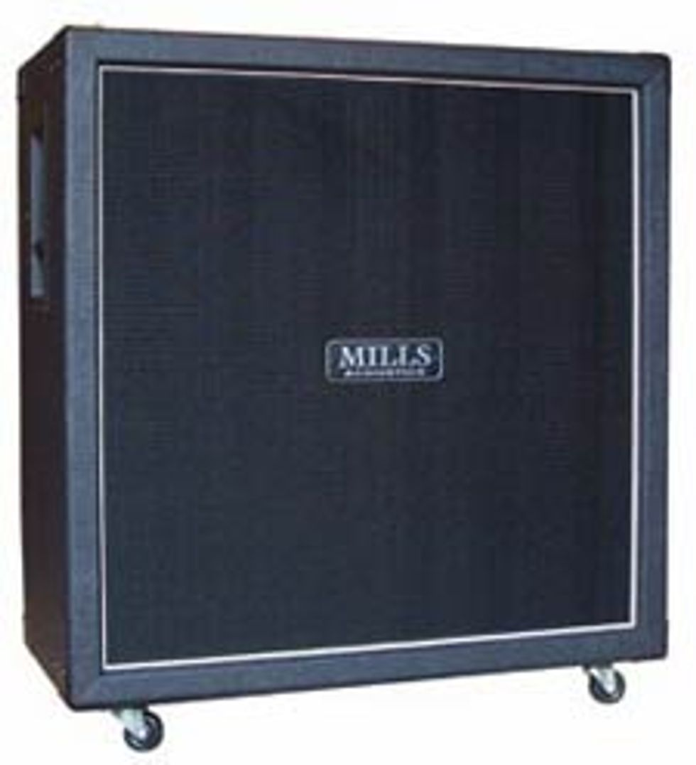 Mills Acoustics Afterburner Cab