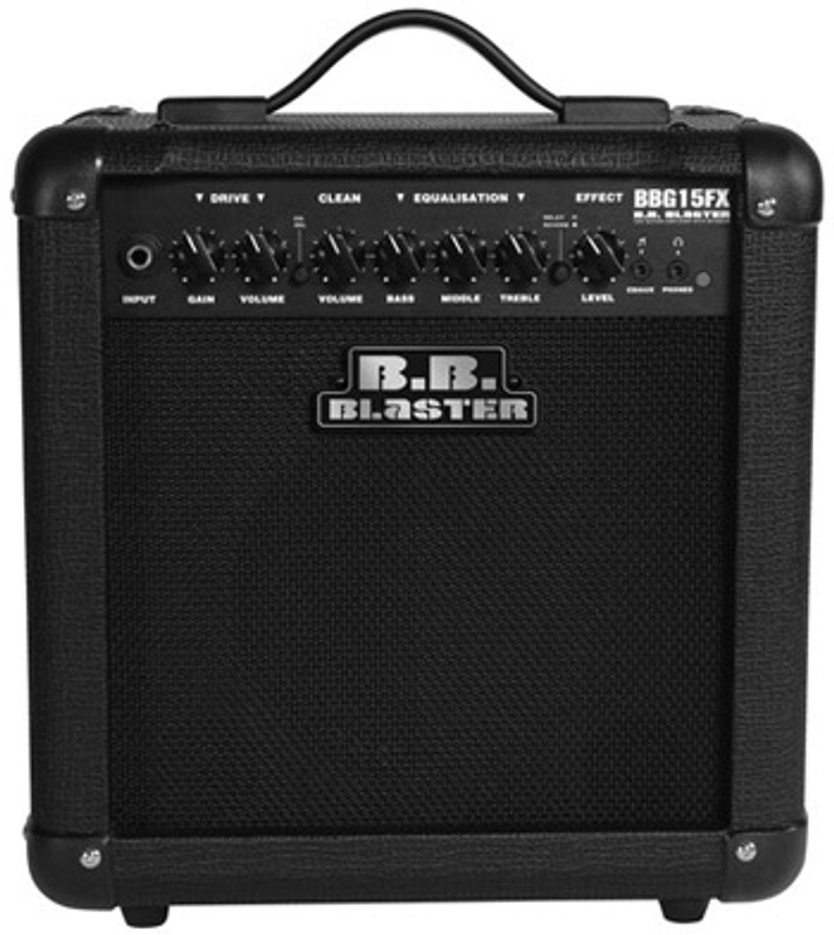 B.B. Blaster Amplification Announces BBG15FX Amp