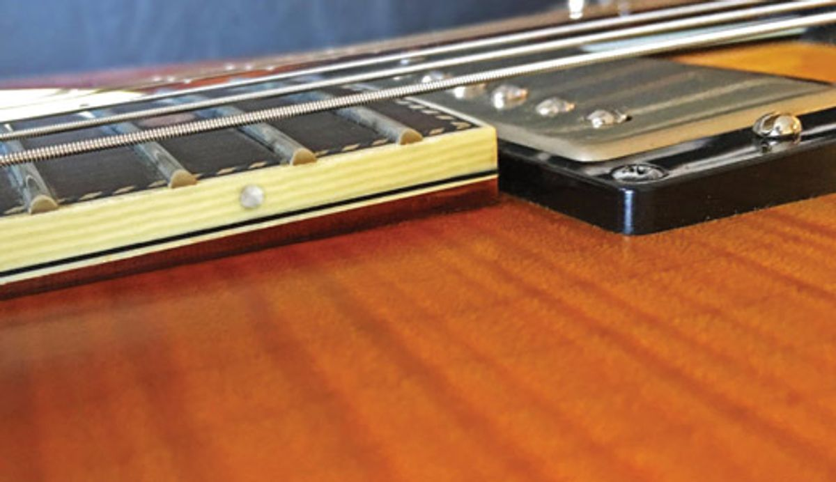 Jol Dantzig's Esoterica Electrica: Why Neck Pitch Matters