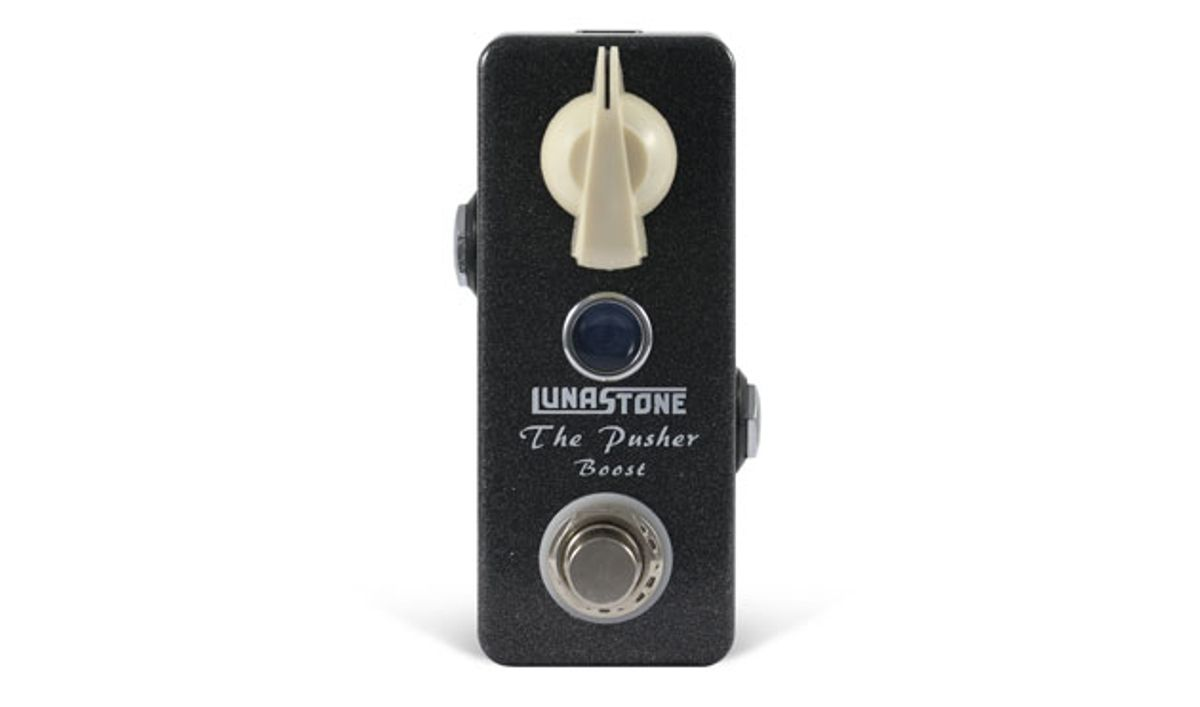 LunaStone Unveils the Pusher Boost Pedal