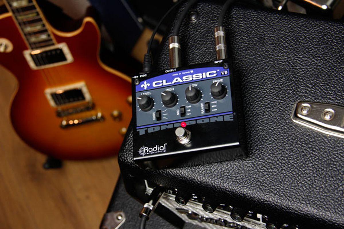 Radial Engineering Announces the Tonebone Classic V9